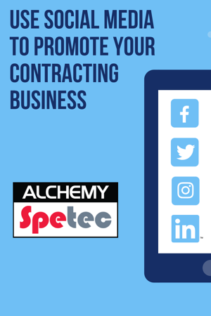 Use Social Media to Promote Your Contracting Business
