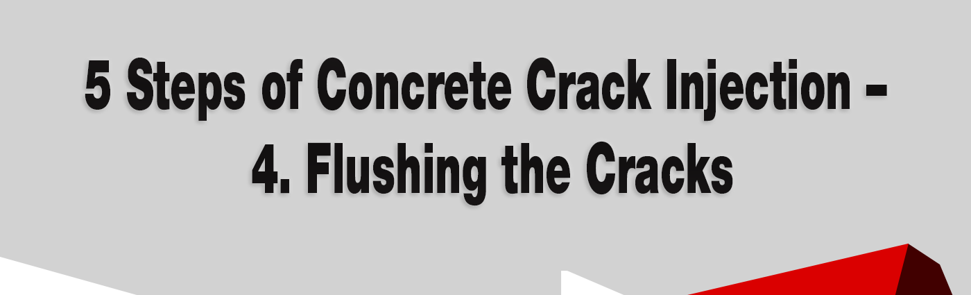 5 Steps of Concrete Crack Injection - Alchemy-Spetec