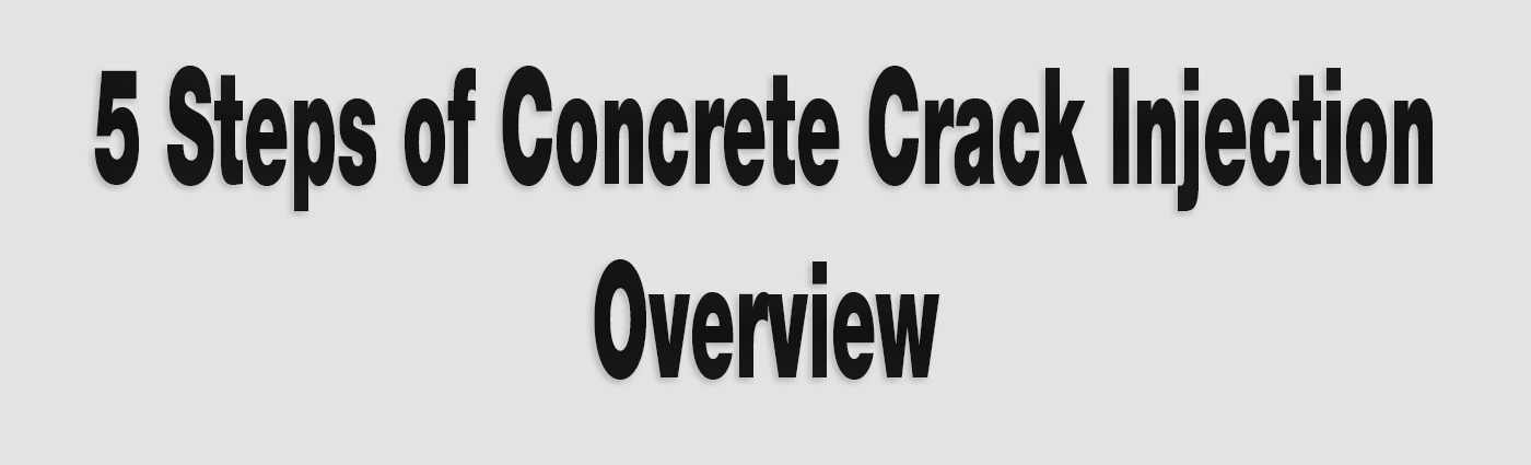 Concrete Crack Injection - Alchemy-Spetec