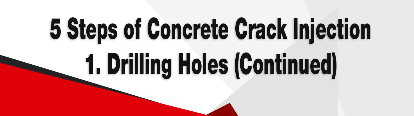 5 Steps of Concrete Crack Injection 1 - banner