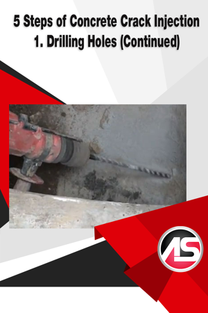 5 Steps of Concrete Crack Injection 1 - blog