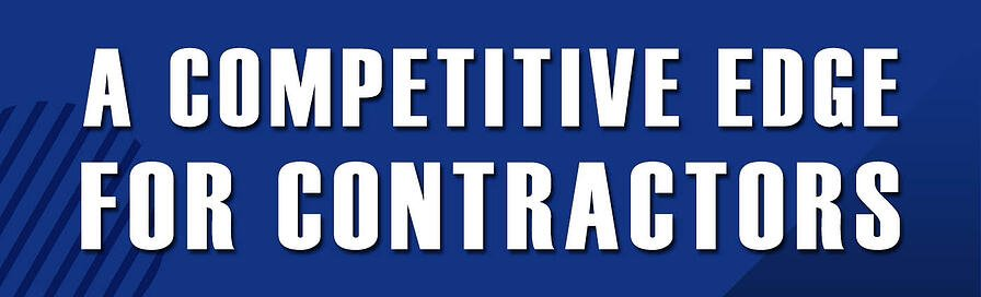Banner - A Competitive Edge for Contractors