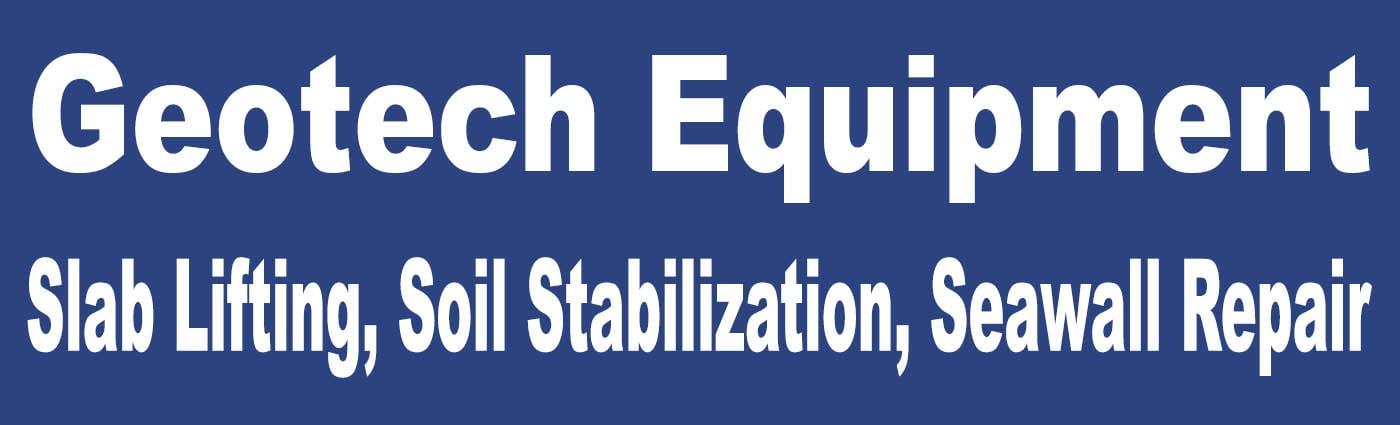 Banner - Geotech Equipment