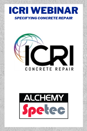 ICRI Webinar - Specifying Concrete Repair