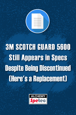 Body - 3M Scotch Guard 5600