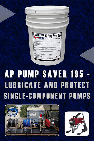 Body - AP Pump Saver 195 - Lubricate and Protect Single-Component Pumps