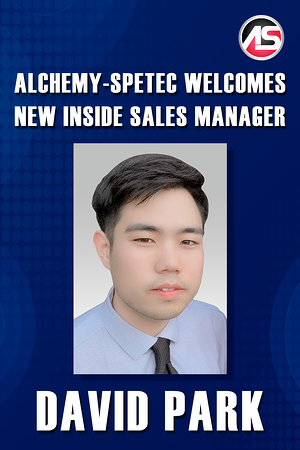 Body - Alchemy-Spetec Welcomes New Inside Sales Manager David Park