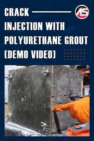 Body - Crack Injection with Polyurethane Grout