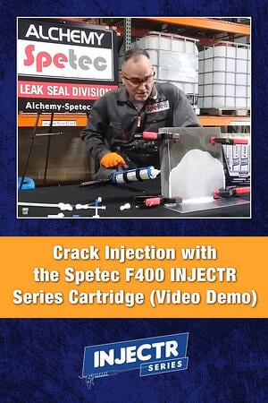Body - F400 INJECTR Series Crack Injection Demo