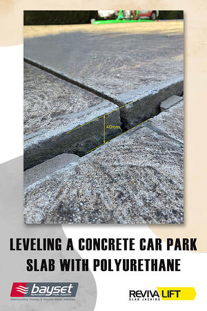 Body - Leveling a Concrete Car Park Slab with Polyurethane