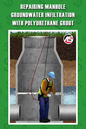 Body - Repairing Manhole Groundwater Infiltration with Polyurethane Grout