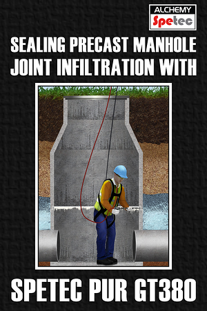 Body - Sealing Precast Manhole Joint Infiltration with GT380