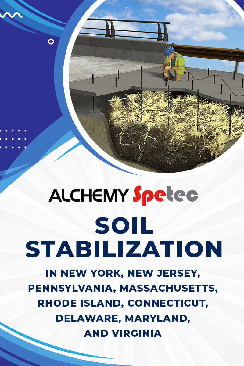 Body - Soil Stabilization in New York, New Jersey, Pennsylvania, Massachusetts, Rhode Island, Connecticut, Delaware, Maryland, and Virginia
