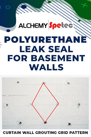 Body Graphic - Polyurethane Leak Seal for Basement Walls