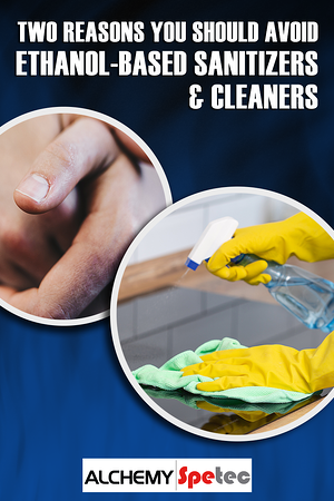 Body-Avoid Ethanol Based Sanitizers and Cleaners