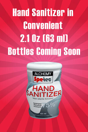 Body-Hand Sanitizer in Convenient Bottles