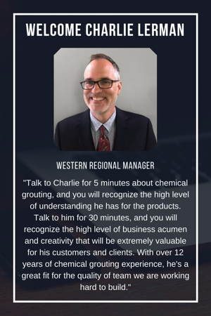 Alchemy-Spetec is pleased to announce the addition of Charlie Lerman to our team!  Charlie will join us as the Western Regional Sales Manager.  Read more...