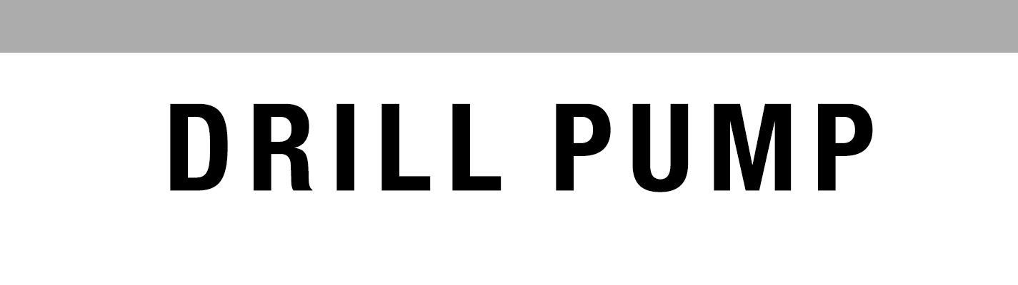 Drill Pump - Banner
