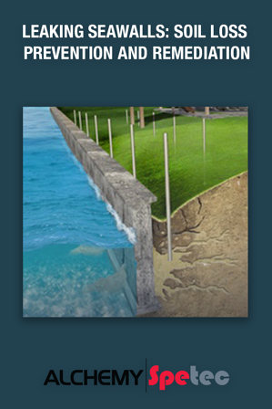 As tidal flows rise and fall, water pushes its way in through cracks, joints, and defects in seawalls. With this, voids form and deteriorate the structural integrity. Learn how AP Fill 700, a semi-rigid hydrophobic polyurethane foam, can fill voids creating a solid, strong, watertight mass while stabilizing the soil around it...