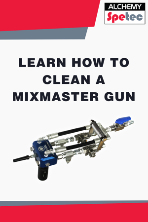 Learn how easy it is to clean the MixMaster Pro slab lifting gun. Visit us at the 2019 World of Concrete show in Las Vegas at booth O40551.