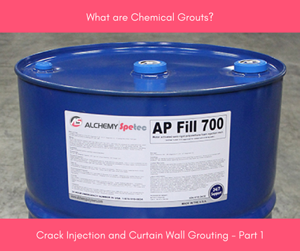 Crack Injection And Curtain Wall Grouting Part 1