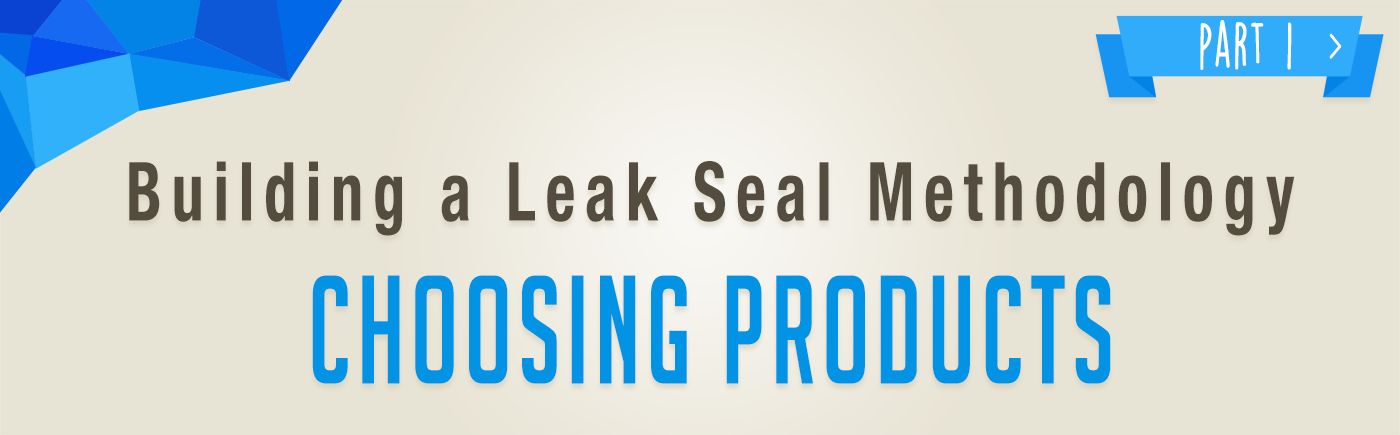 The most critical step of building a leak seal methodology is choosing the correct product. In our industry, there are products with varying degrees of flexibility, viscosity (thickness), expansion rate, type, and reaction time.  If the wrong product is chosen, the best equipment in the world won't provide a successful, long-lasting repair. Read more...