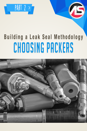 While leak-seal injections are often performed in small cracks and joints, the mechanical packer portion of the project is often more significant than the chemical grout. Let's begin with a brief overview of packer terminology as reference.
