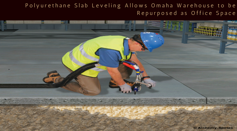 Polyurethane Slab Leveling Allows Omaha Warehouse to be Repurposed as Office Space (1).png