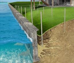 Polyurethane Seawall Repair