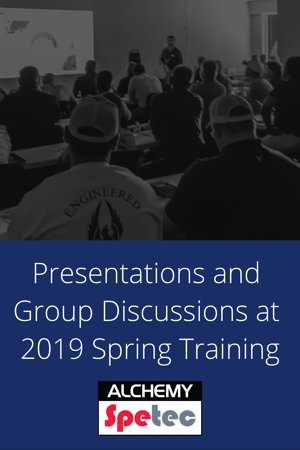 Presentations and Group Discussions at 2019 Spring Training-blog