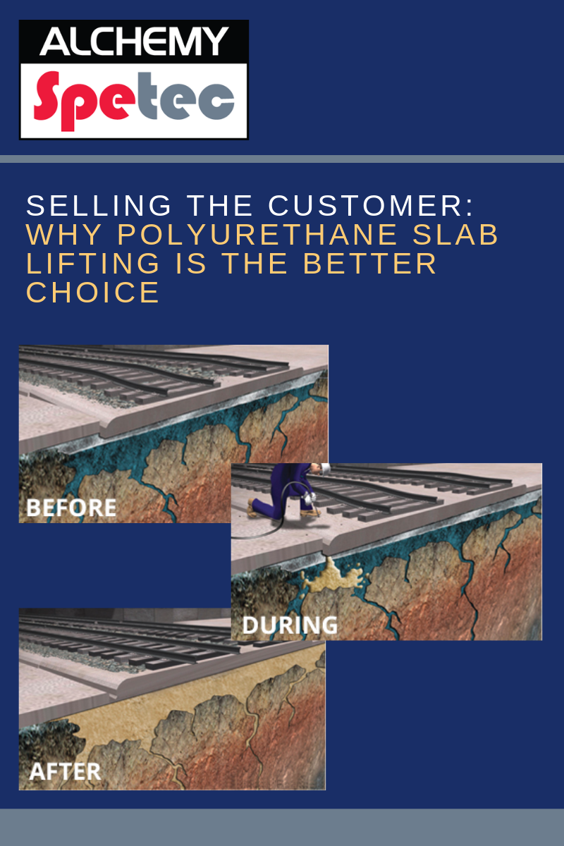 Polyurethane slab lifting foamsare one of the most resilient foundation repair solutions. Guide your customer in using a solid polyjacking repair solution. Read more...