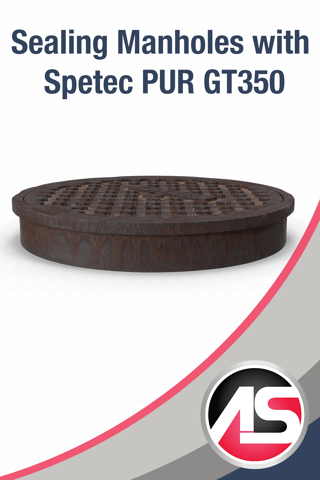 Sealing Manholes with Spetec PUR GT350 Alchemy-Spetec