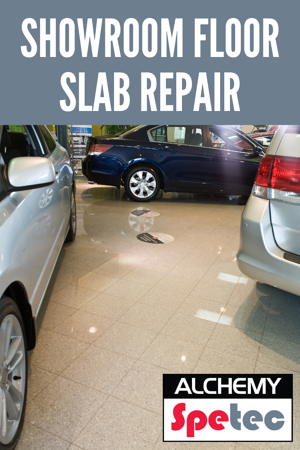 Showroom Floor Slab Repair