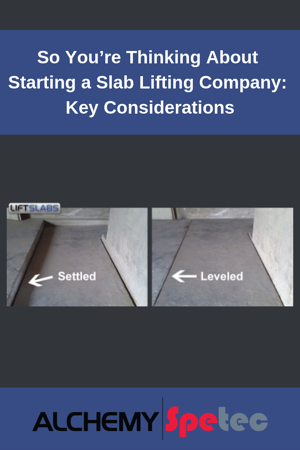 Having the right slab lifting equipment, top-of-line materials, vendor support, and deep expertise in this unique industry are the first keys to success for startup companies. Read more...