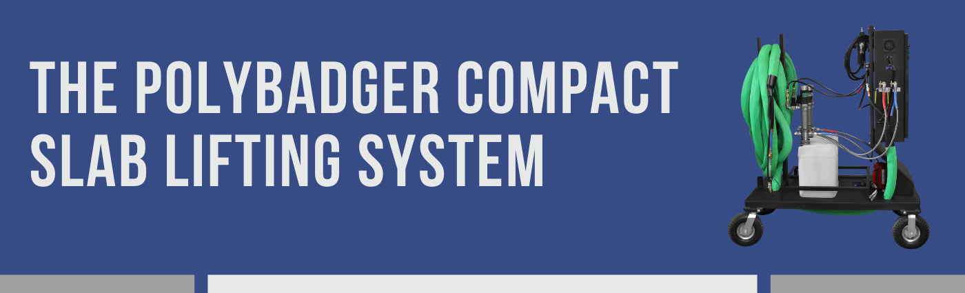 The Polybadger Compact Slab Lifting System