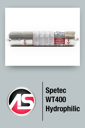 WT400 is a hydrophilic waterstop caulk that swells when water is present. This product can be used in many applications with the main one being sheet piling. Read more...