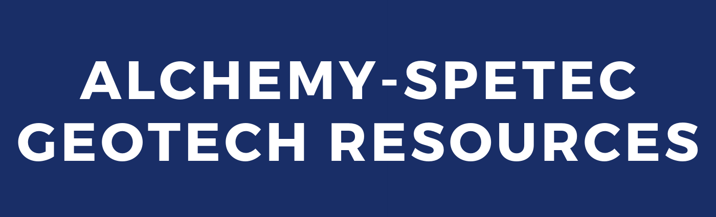 Alchemy-Spetec Geotech Resources