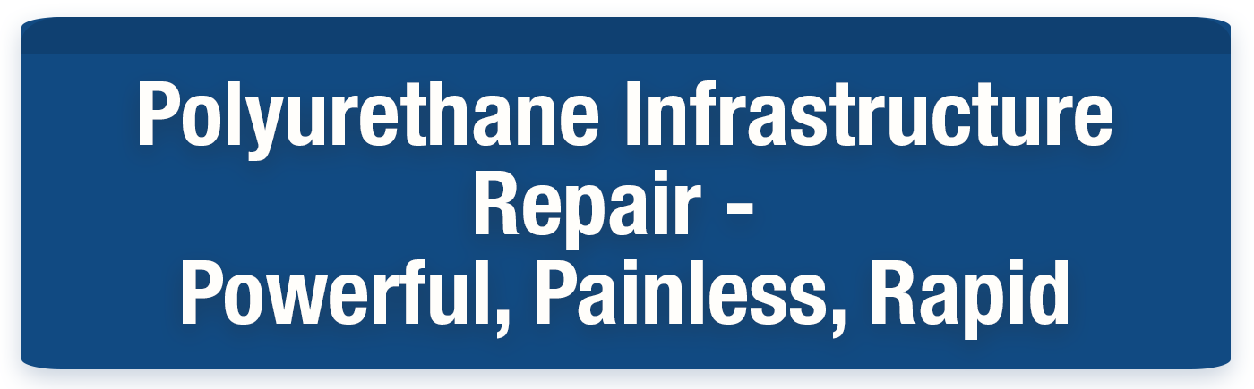 In the blog post, we take a look at the three most important characteristics in a polyurethane infrastructure repair resin: powerful, painless, rapid.
