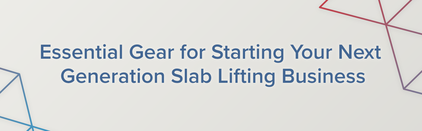 Polyurethane Slab Lifting is a Popular Add-On Service for Contractors Across the U.S. Get Info on Gear You'll Need to Start Your Slab Lifting Business. Read more...