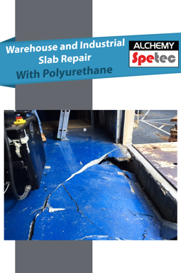 Warehouse and Industrial Slab Repair With Polyurethane